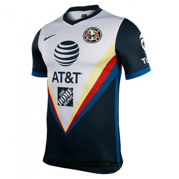 Maillot Cf América 2020 2021 Exterieur Noir/blanc