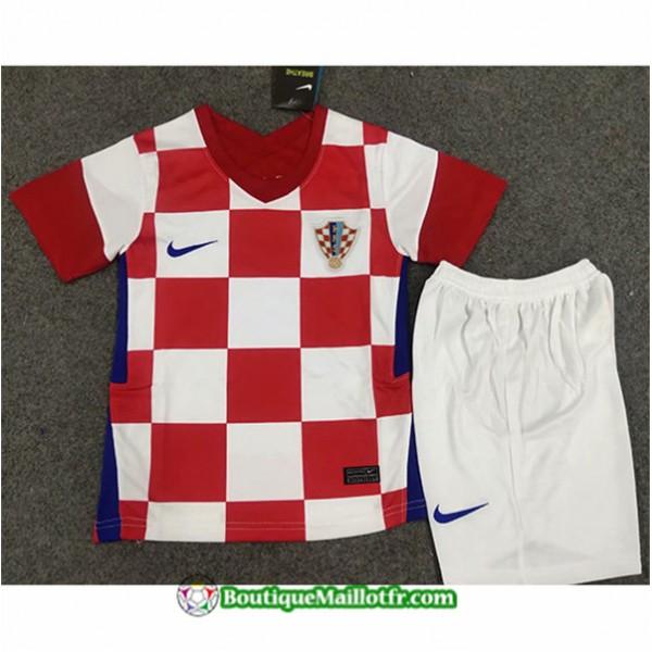 Maillot Croatie Enfant 2020 2021 Domicile