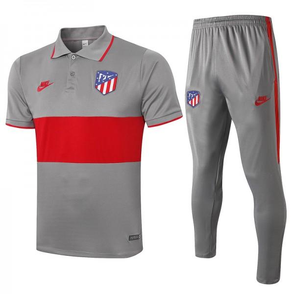 Maillot Entraînement Atletico Madrid 2020 2021 Po...