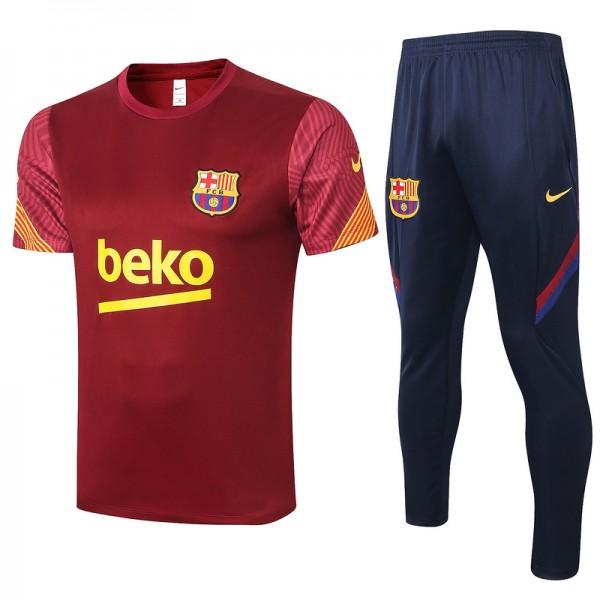 Maillot Entraînement Barcelone 2020 2021 Jujube R...
