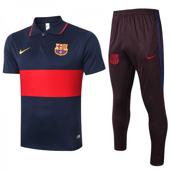 Maillot Entraînement Barcelone 2020 2021 Polo Ble...