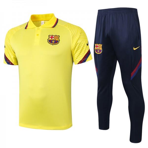 Maillot Entraînement Barcelone 2020 2021 Polo Jau...