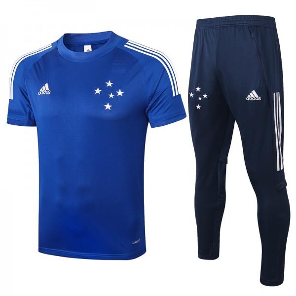Maillot Entraînement Cruzeiro 2020 2021 Bleu