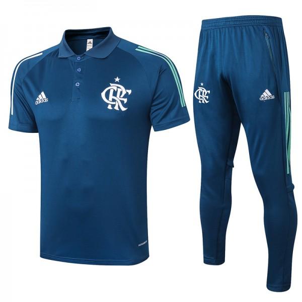 Maillot Entraînement Flamengo 2020 2021 Polo Bleu...