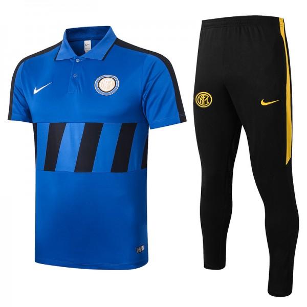 Maillot Entraînement Inter Milan 2020 2021 Polo B...