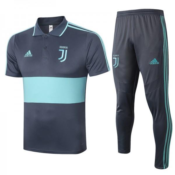 Maillot Entraînement Juventus 2020 2021 Polo Gris...