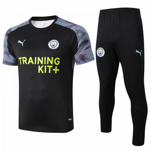 Maillot Entraînement Manchester City 2020 2021 No...