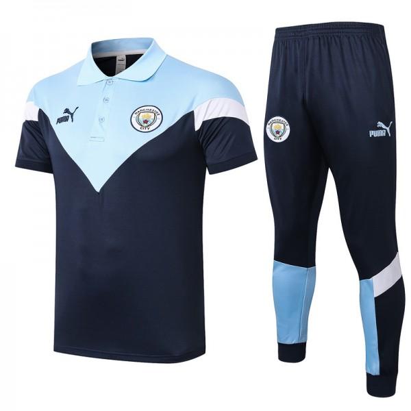 Maillot Entraînement Manchester City 2020 2021 Po...