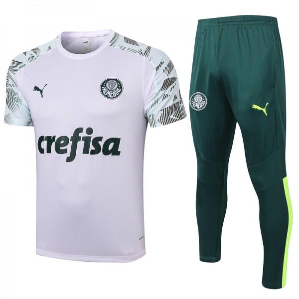 Maillot Entraînement Palmeiras 2020 2021 Blanc