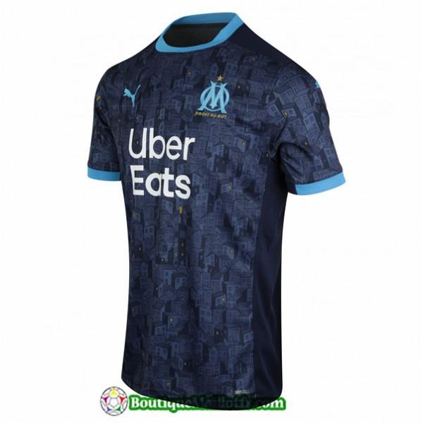 Maillot Marseille 2020 2021 Exterieur