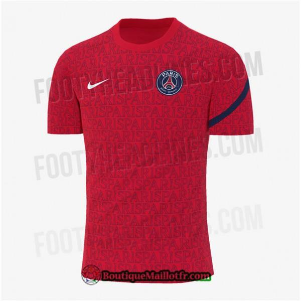 Maillot Psg 2020 2021 Exterieur Pre Match Rouge