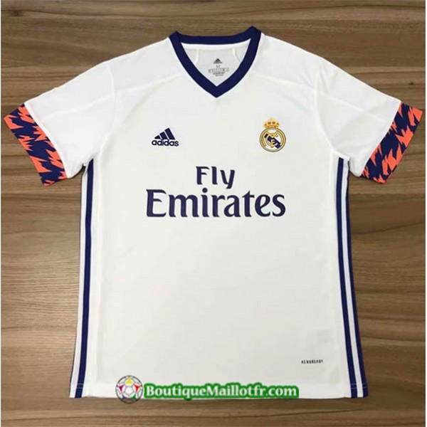 Maillot Real Madrid 2020 2021 Blanc