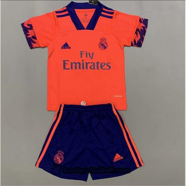 Maillot Real Madrid Enfant 2020 2021 Exterieur Ora...
