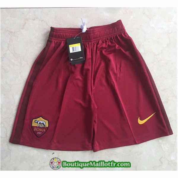 Maillot Short As Roma Short 2020 2021 Domicile
