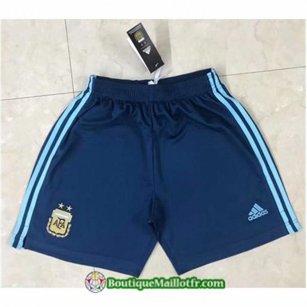Maillot Short Argentine Shorts 2020 2021 Bleu