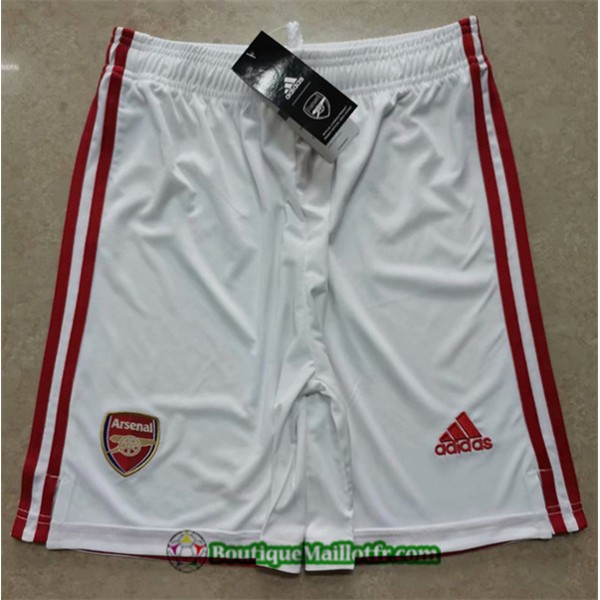 Maillot Short Arsenal 2020 2021 Domicile