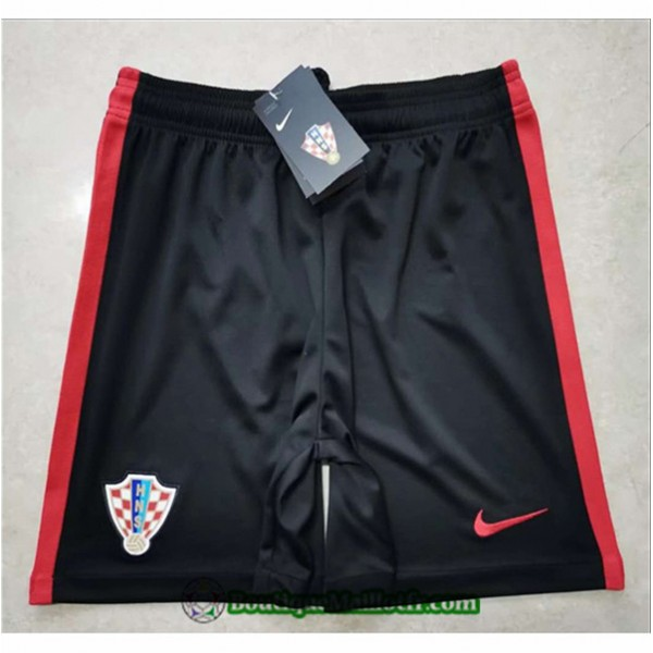 Maillot Short Croatie Shorts 2020 2021 Noir