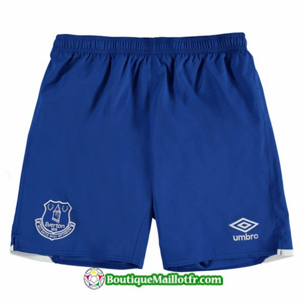 Maillot Short Everton 2019 2020 Domicile