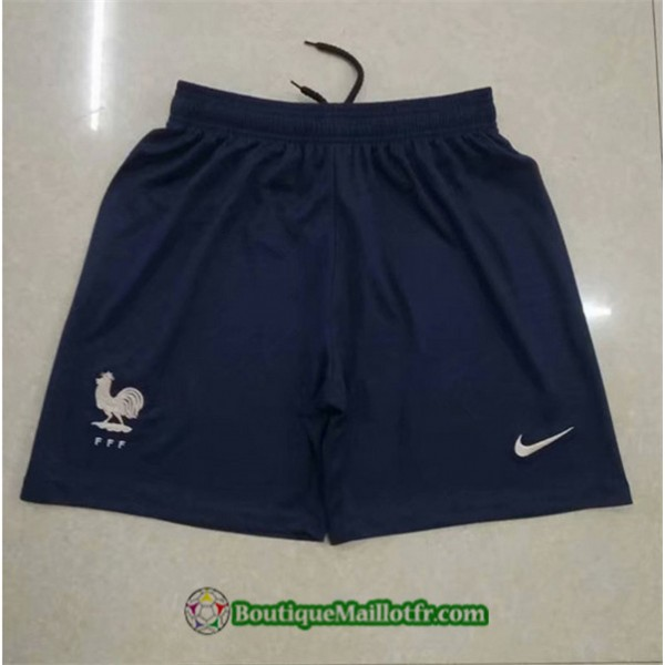Maillot Short France 2019 2020 Exterieur