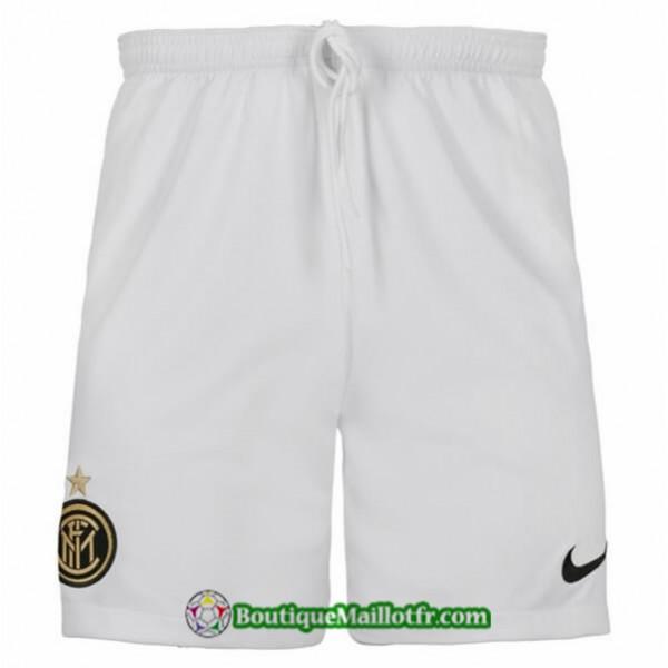 Maillot Short Inter Milan 2019 2020 Blancexterieur