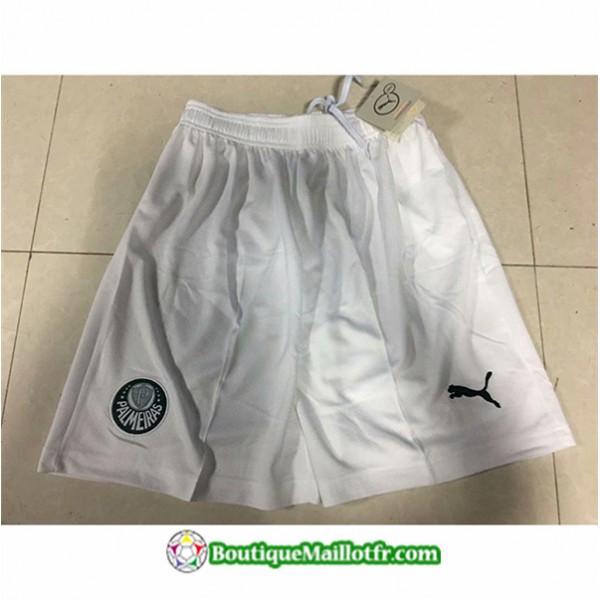 Maillot Short Palmeiras Shorts 2019 2020 Blanc