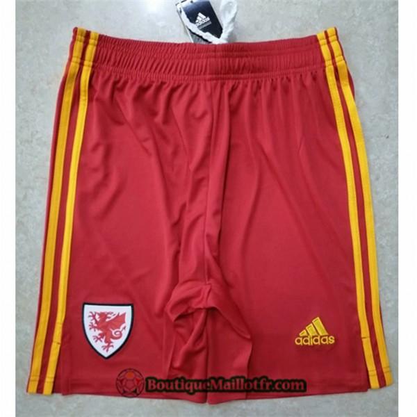 Maillot Short Pays De Galles Shorts 2020 2021 Roug...