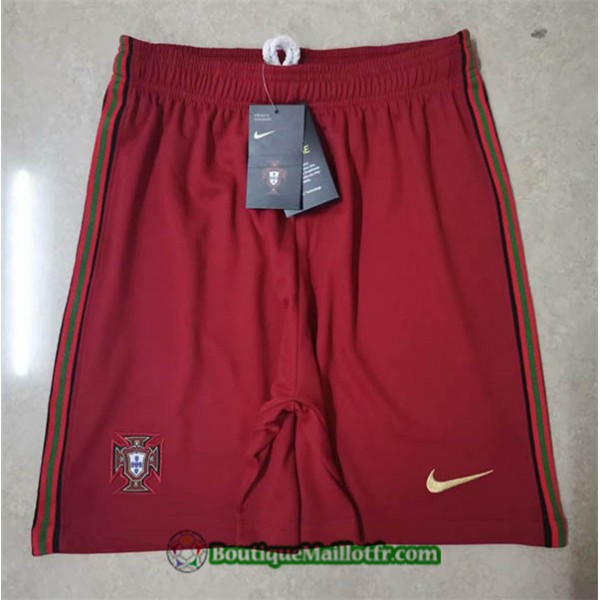 Maillot Short Portugal 2020 2021 Domicile