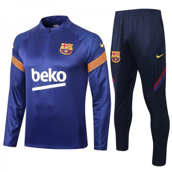 Survetement Barcelone 2020 2021 Bleu