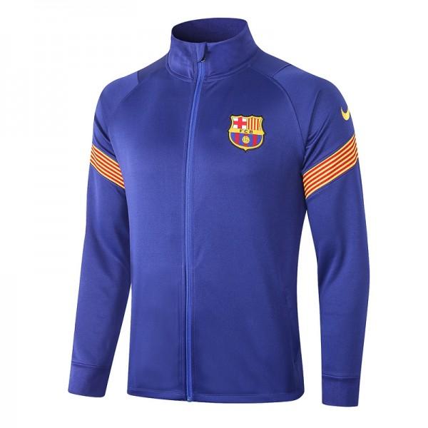 Veste De Foot Barcelone 2020 2021 Bleu