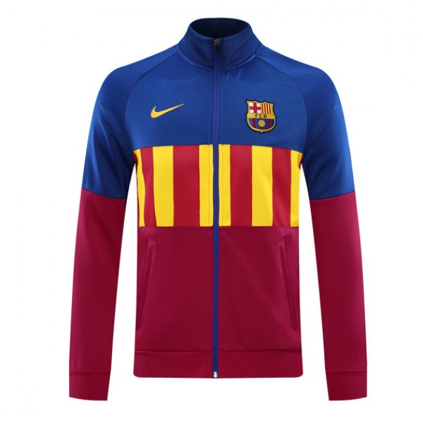 Veste De Foot Barcelone 2020 2021 Bleu/rose