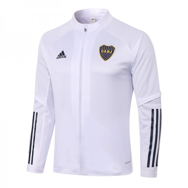 Veste De Foot Boca Juniors 2020 2021 Blanc