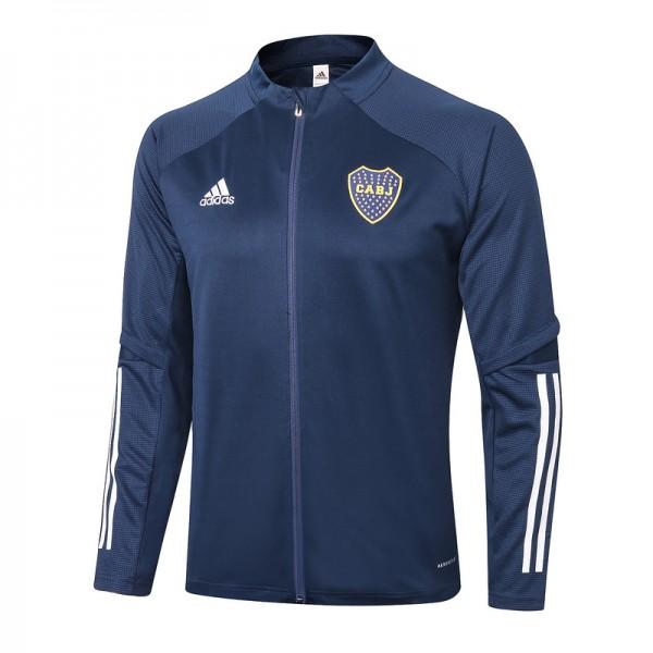 Veste De Foot Boca Juniors 2020 2021 Bleu Marine