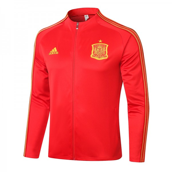 Veste De Foot Espagne 2020 2021 Rouge
