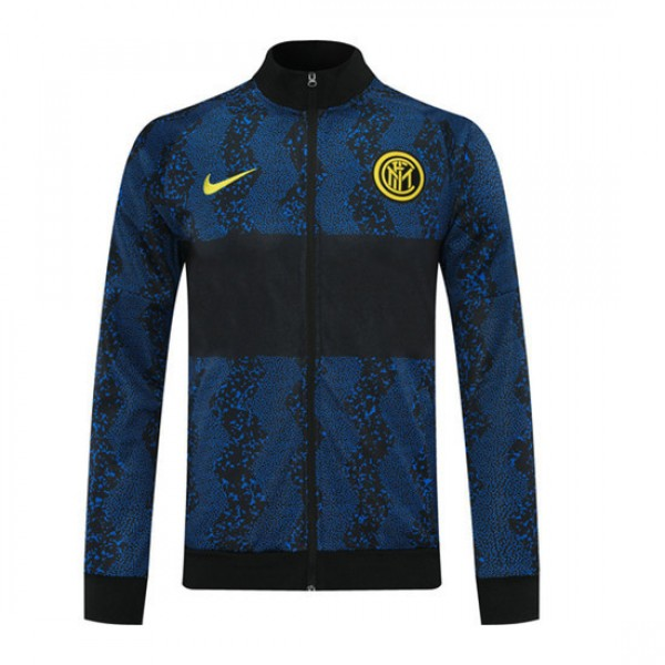 Veste De Foot Inter Milan 2020 2021 Noir/bleu