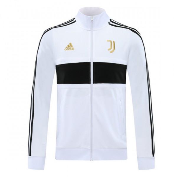 Veste De Foot Juventus 2020 2021 Blanc/noir