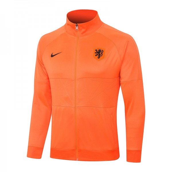 Veste De Foot Pays Bas 2020 2021 Orange