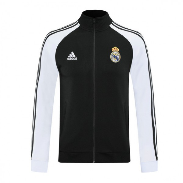 Veste De Foot Real Madrid 2020 2021 Noir/blanc