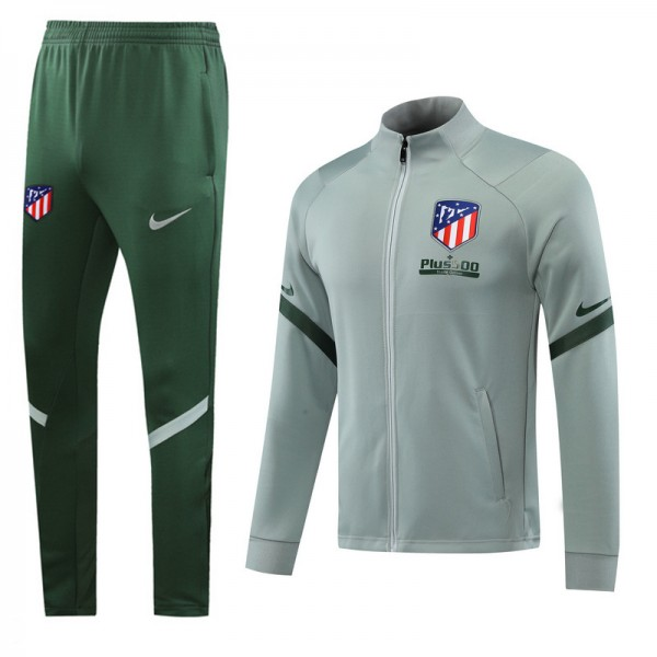 Veste Survetement Atletico Madrid 2020 2021 Vert C...