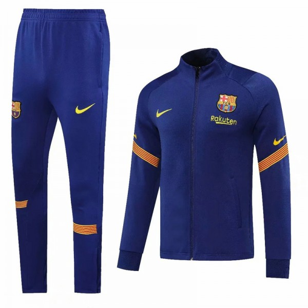 Veste Survetement Barcelone 2020 2021 Bleu Marine