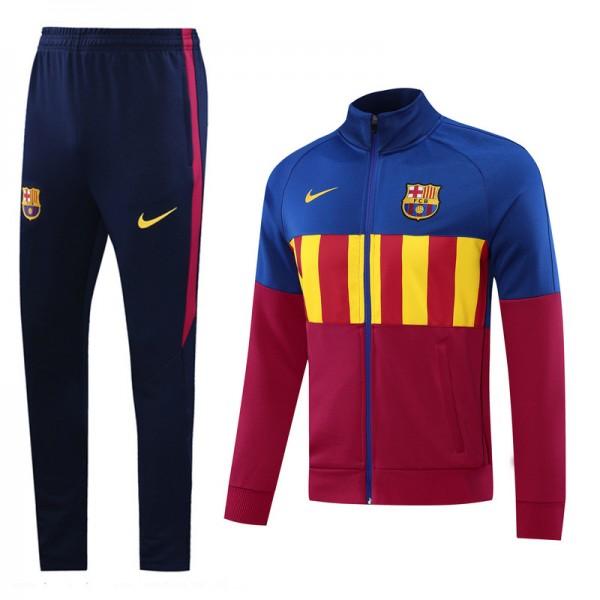Veste Survetement Barcelone 2020 2021 Bleu/rose