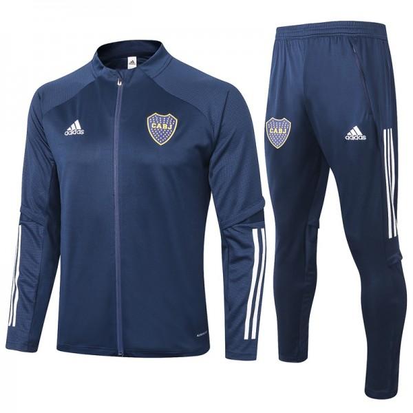 Veste Survetement Boca Juniors 2020 2021 Bleu Mari...