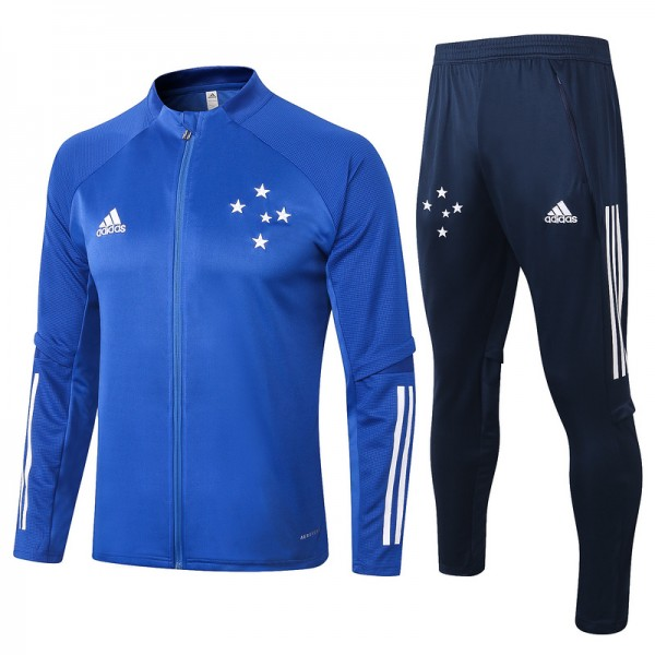 Veste Survetement Cruzeiro 2020 2021 Bleu