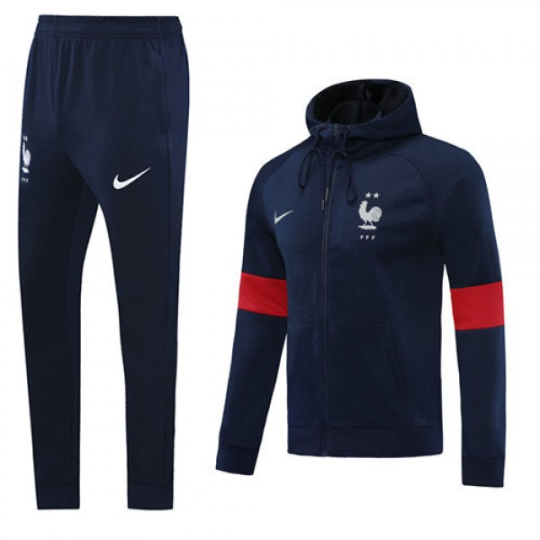Veste Survetement France 2020 2021 Hoodie