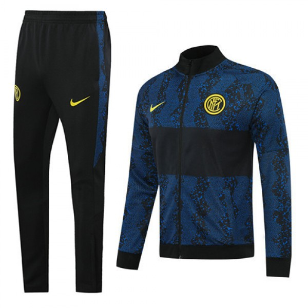 Veste Survetement Inter Milan 2020 2021 Noir/bleu