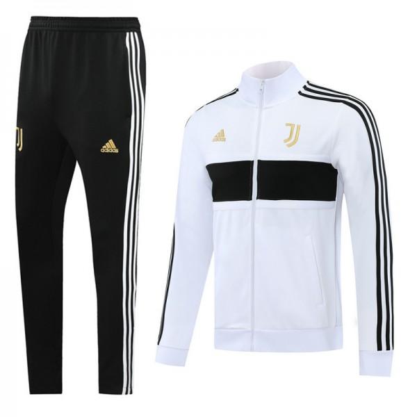 Veste Survetement Juventus 2020 2021 Blanc/noir