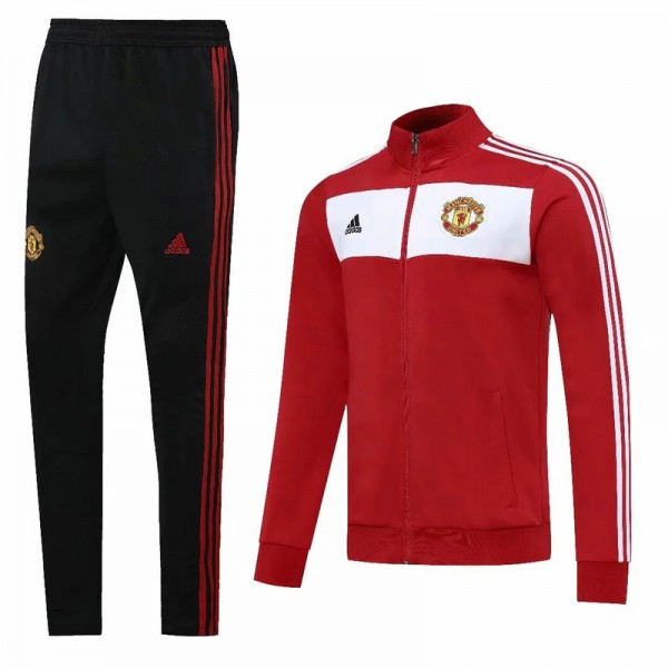 Veste Survetement Manchester United 2020 2021 Roug...