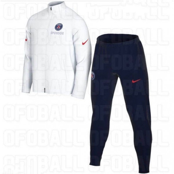 Veste Survetement Paris Saint Germain 2020 2021 Bl...