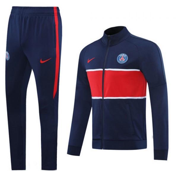 Veste Survetement Paris Saint Germain 2020 2021 Bl...