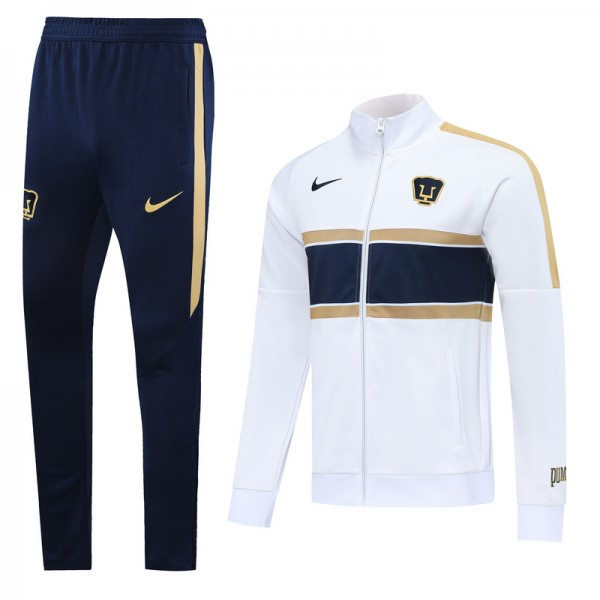 Veste Survetement Pumas 2020 2021 Blanc/bleu