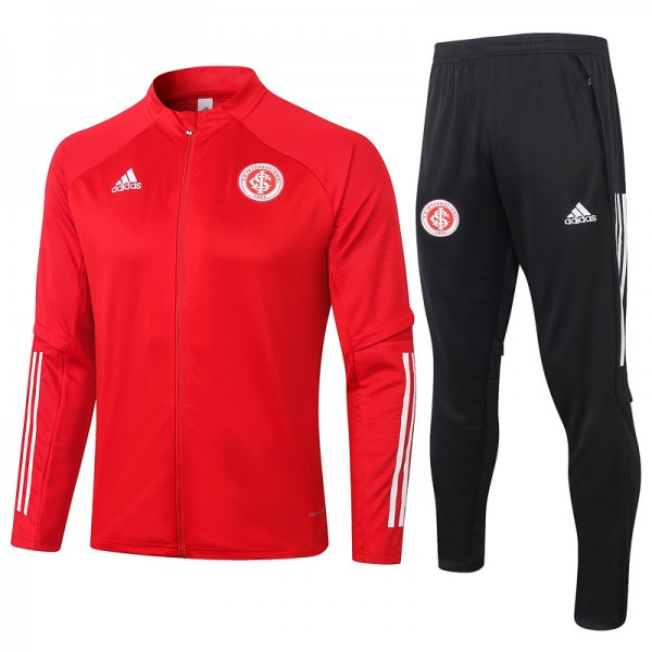 Veste Survetement Sc Internacional 2020 2021 Rouge